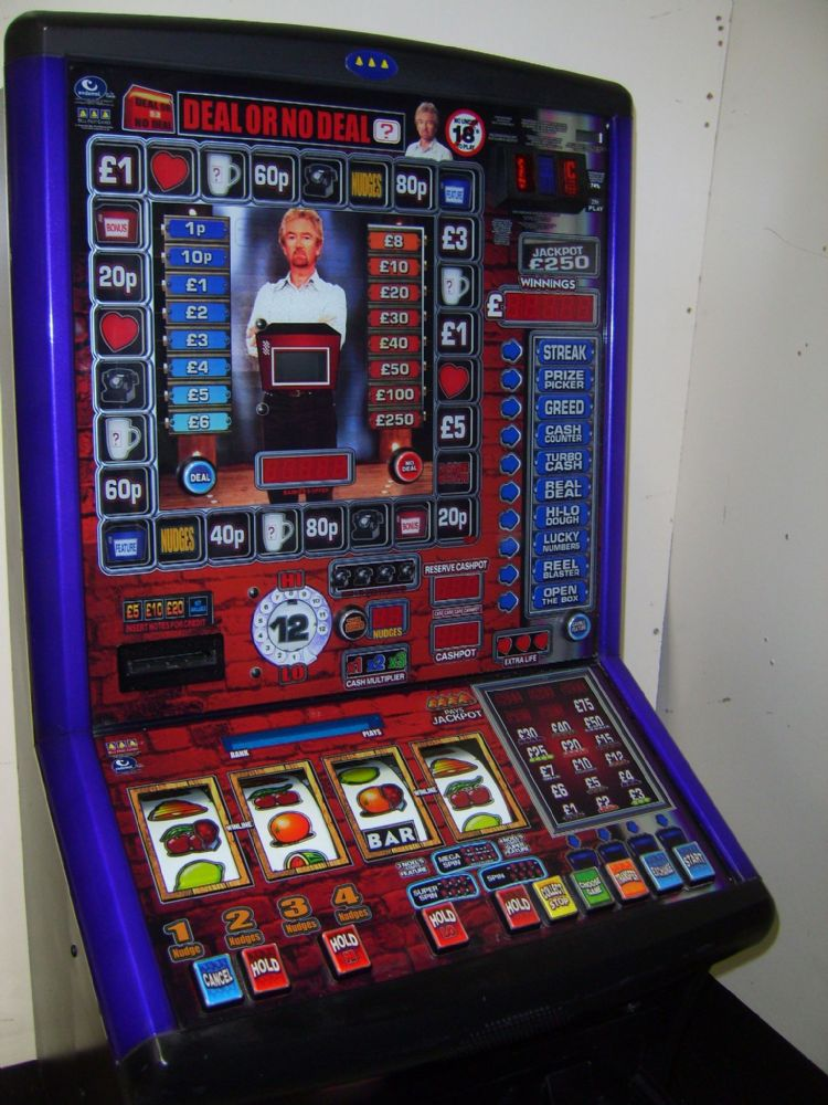 Club Deal Or No Deal 75 Jackpot Note Acceptor Club